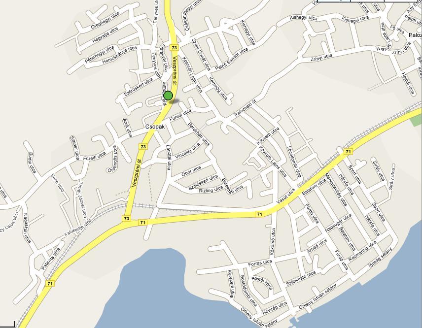 csopak térkép Kádár & Társa Idegenforgalmi, Kereskedelmi és Szolgáltató Bt. | Csopak csopak térkép